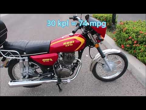 Rusi Tc 175 Motorcycle Review Youtube