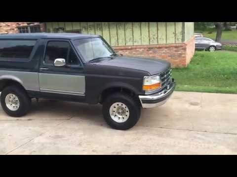 1994 Ford Bronco 58 Walkaround