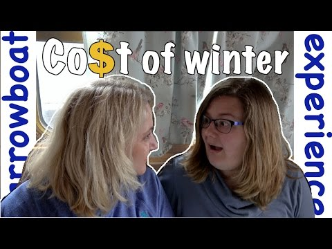 What is the cost of living on a canal boat in winter | Narrowboat Experience