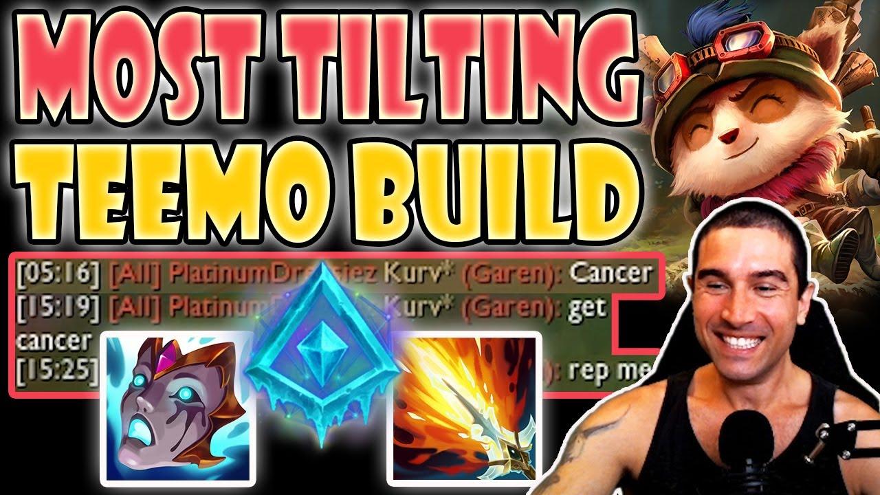 Download Most tilting Teemo build [Teemo vs Garen] S11 Commentary