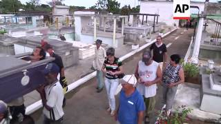 Cuba celebrates the ritual of Pachencho burial, the living dead