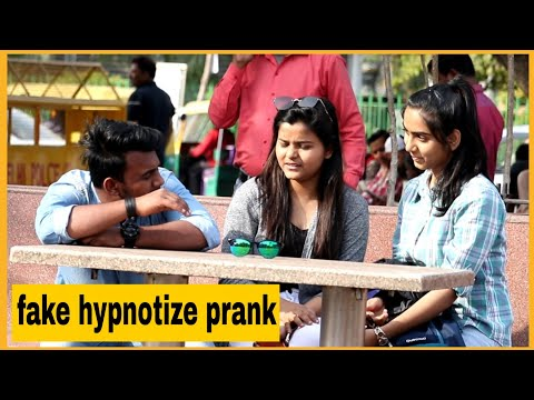 Fake Hypnotize Prank On Cute Girls |AKY FILMS|