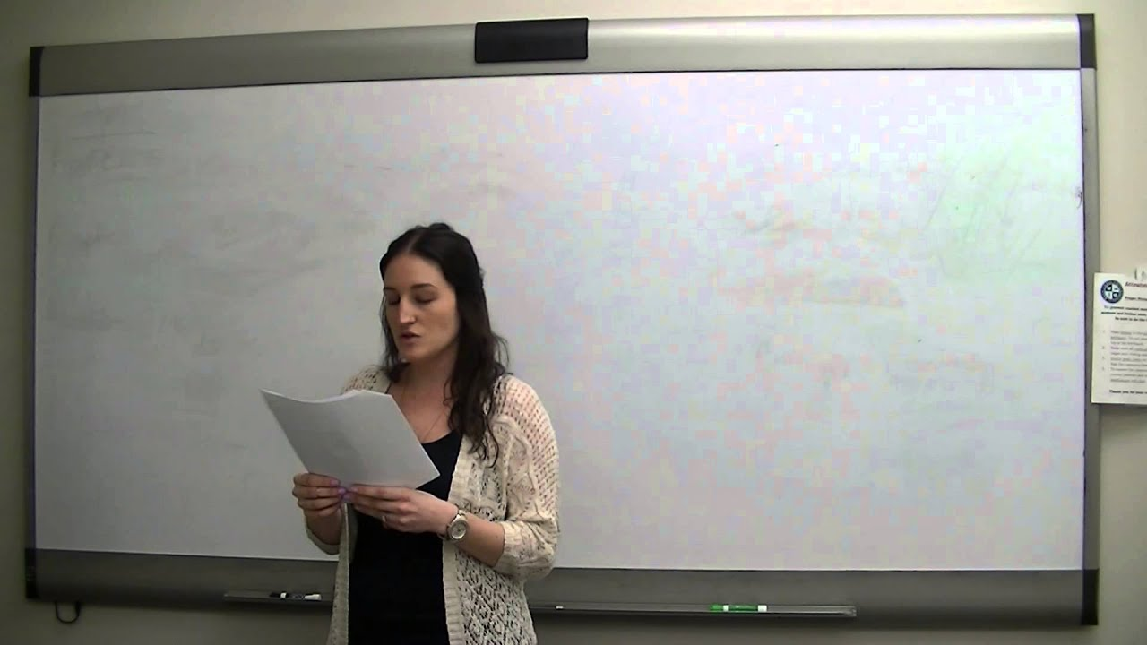 gmos persuasive speech