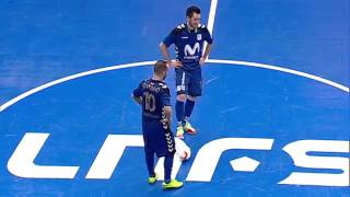 Spain League   Round 9    nter Movistar 5x2 Santiago Futsal