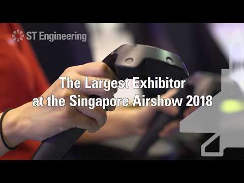 Sneak Peak: ST Engineering Pavilion at the Singapore Airshow 2018