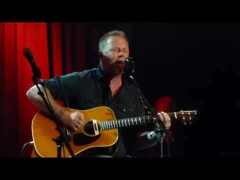 James Hetfield  Motorbreath  Acoustic San Francisco 2016