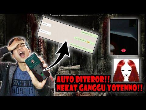 DITEROR!! NEKAT VC HANTU VIRAL YOTENNO JAM 2 PAGI!!- HOROR SERIES