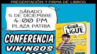 CONFERENCIA WEREVERTUMORRO - PRESENTACION DE LA GUIA DEL LIGUE
