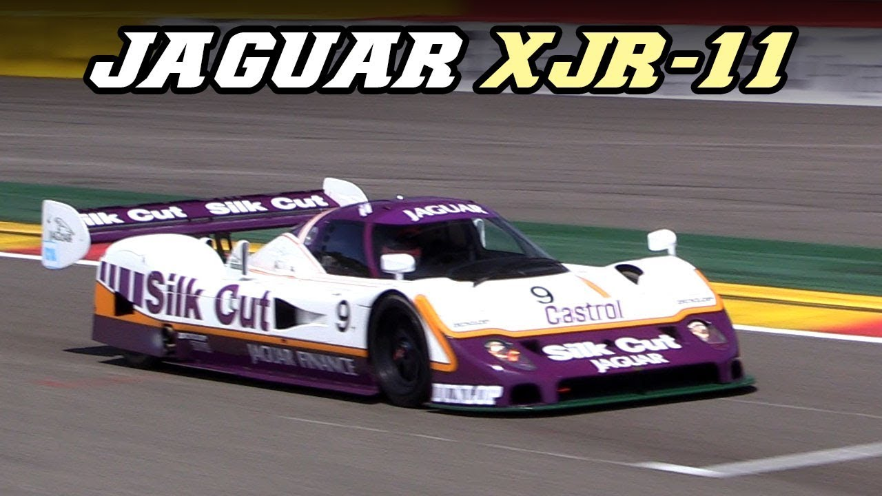 1989 jaguar xjr-11 - v6 turbo fly-by's at spa 2018 - youtube