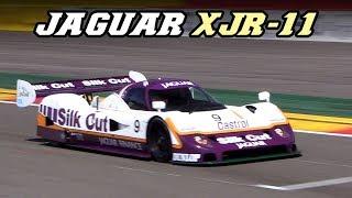 1989 Jaguar XJR-11 - V6 Turbo fly-by's at Spa 2018
