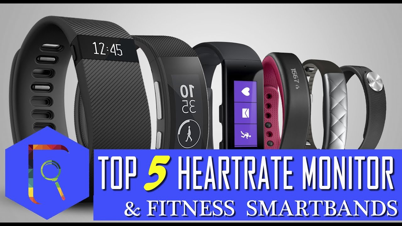 Top 5 Best Heart Rate Monitor & Fitness Smart Bands 2017