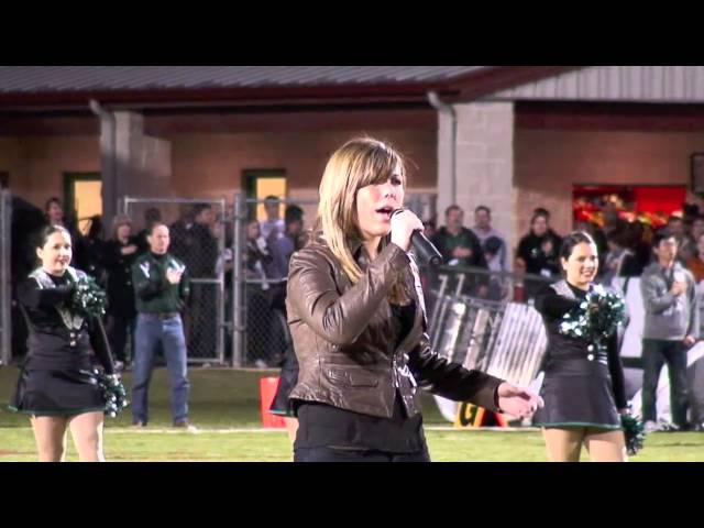 2010 Kaycie Satterfield Sings the National Anthem