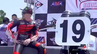 Nicky Hayden   Honda Superbike Showdown
