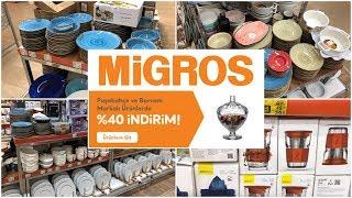 Migros'ta 40% İndirim| Paşabahçe, Borcam  Ürünlerinde İndirim