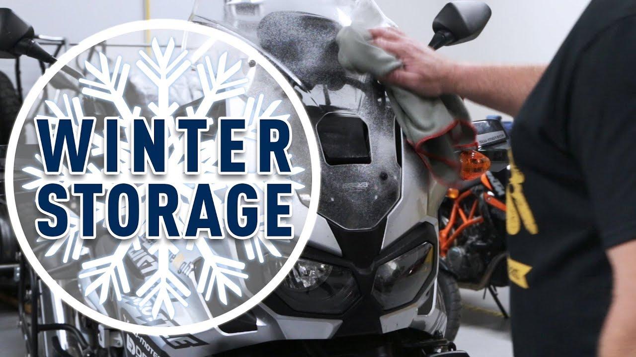 Long Term Motorcycle Storage & Winterization
