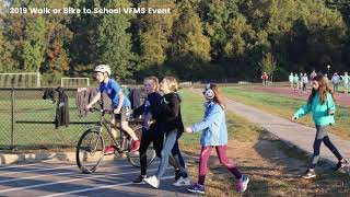 My School in Motion - National Bike or Walk to School Day 2020