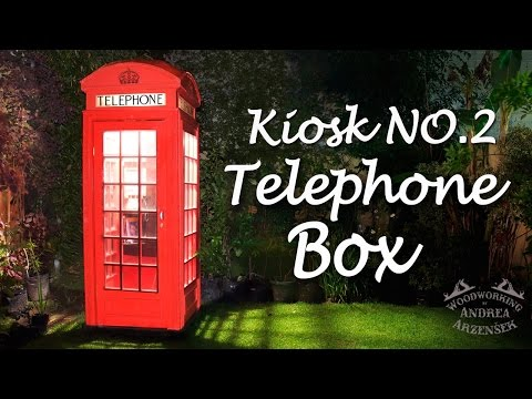 Making A Replica Of Old English Telephone Box! - Ep 031