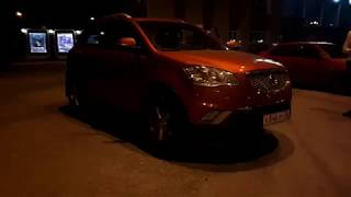 SsangYong Actyon обзор машины