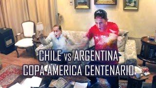 Reacción Penales Chile vs Argentina | Chile Campeon Copa America Centenario