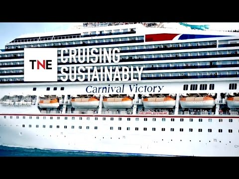 Carnival Corporation on keeping cruises environmentally friendly | The New Economy Videos