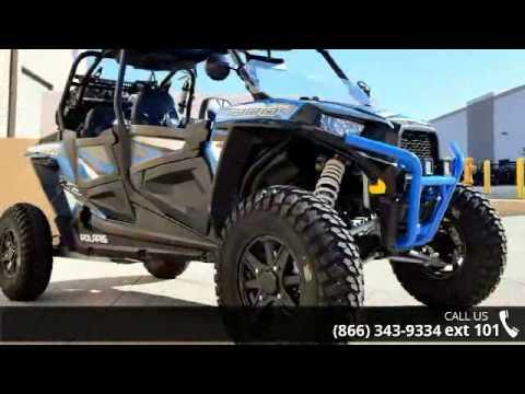 2016 Polaris Rzr Xp 4 1000 Eps Custom Electric Blue Metal