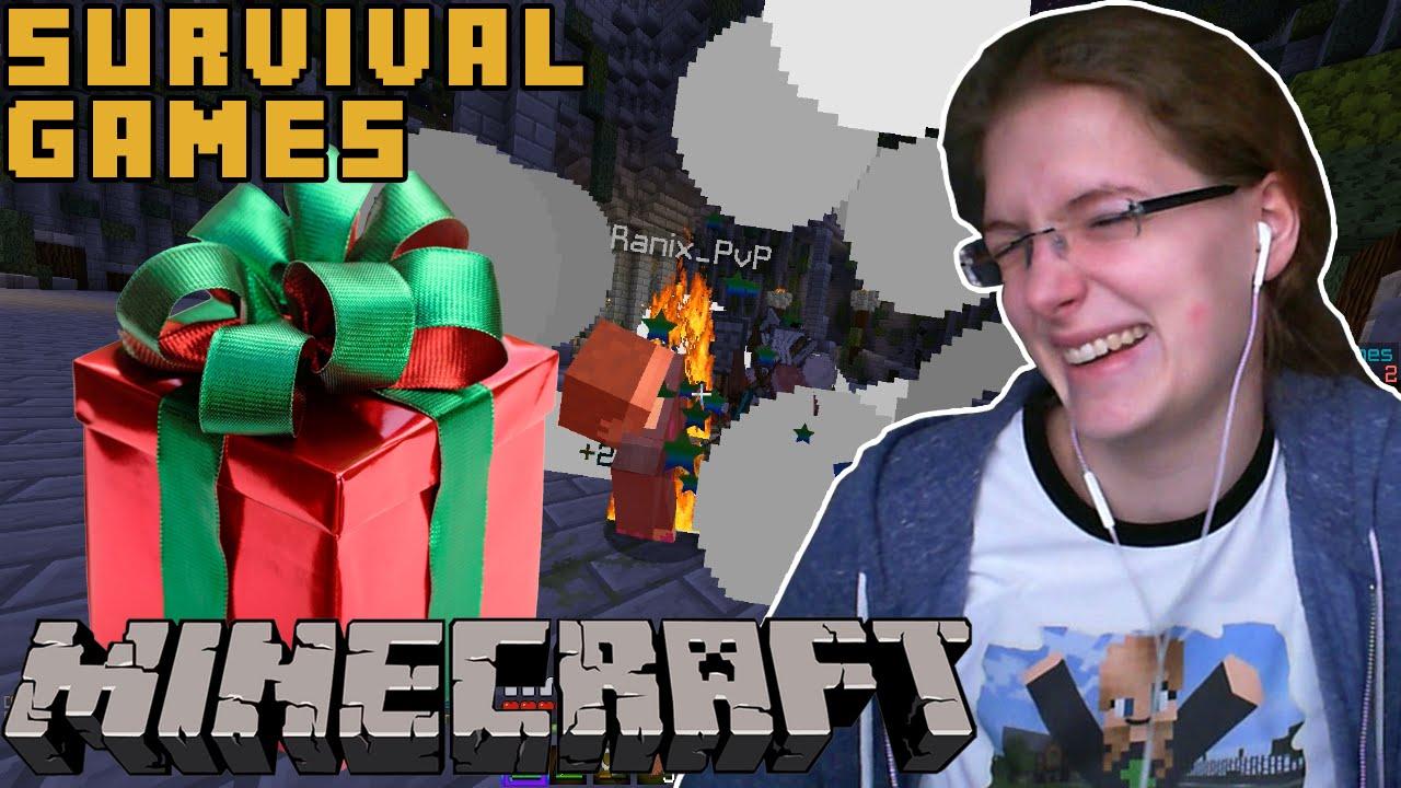 Geburtstagsvideo Berserker Runde Minecraft Survival Games Facecam