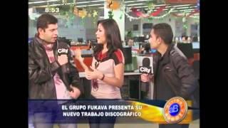 FuKaVa en CityTV/Arriba Bogota