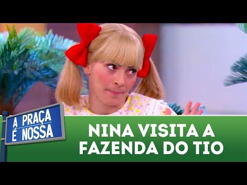 Nina visita a fazenda do tio | A Praça é Nossa (05/07/18)