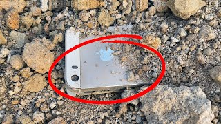 Restore Destroyed iPhone 5s Found in flat construction site