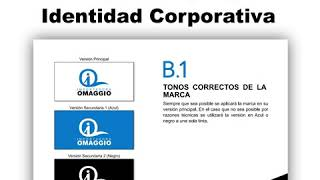 Vídeo Manual de Identidad Corporativa Importadora Omaggio