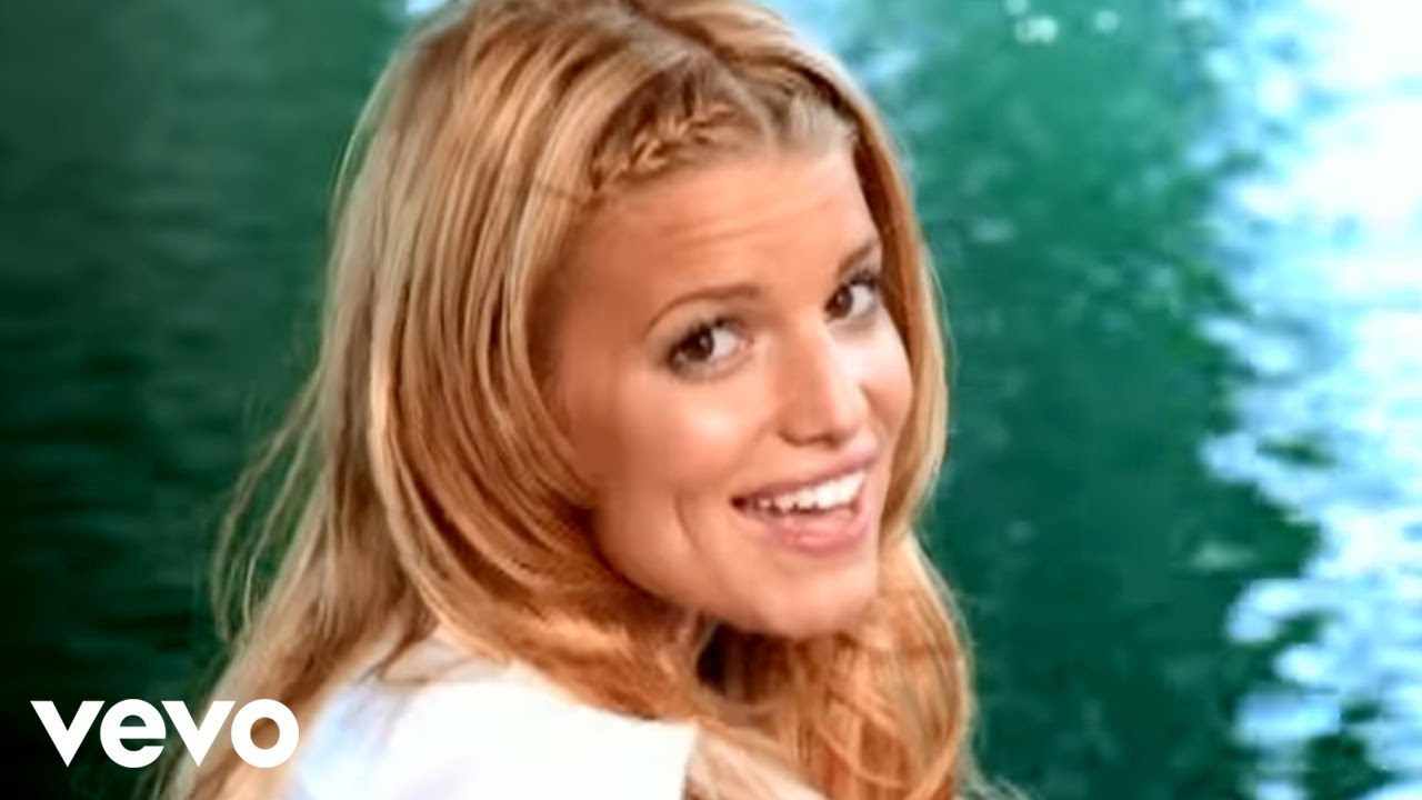 Jessica Simpson I Think I M In Love With You Official