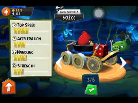 รีวิวเกม Angry Birds Go By Icareuphone