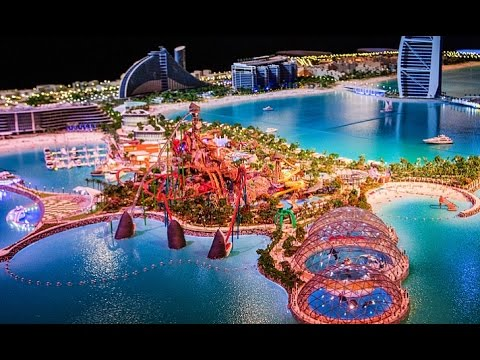 New huge island project Marsa Al Arab in Dubai