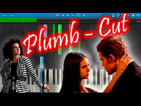 Plumb - Cut (OST The Vampire Diaries) [Piano Tutorial] Synthesia