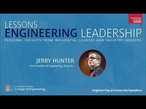 Lessons In Engineering Leadership: Jerry Hunter