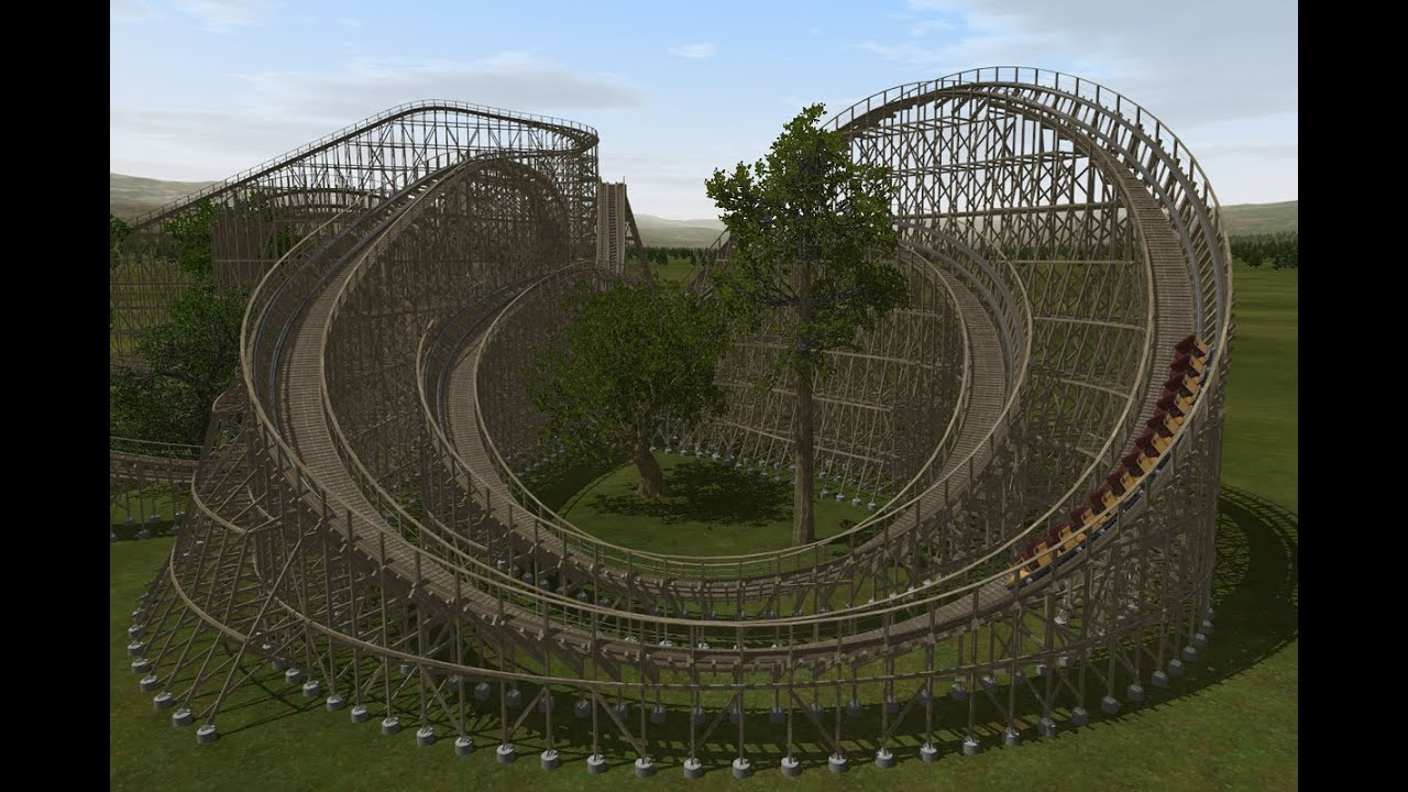 Raging Woodworm Nolimits 2 Roller Coaster Youtube