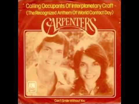 the carpenters  -   calling occupants of interplanetary craft (full version  7.09 min lp track )