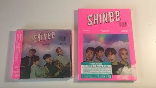 Cover images ♡Unboxing SHINee シャイニー15th Japanese Single Sunny Side (Standard & Limited Edition)♡