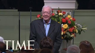 Former U.S. President Jimmy Carter Hospitalized After Fall At Home | TIME