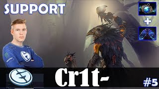 Crit - Shadow Shaman Roaming | SUPPORT | Dota 2 Pro MMR Gameplay #5
