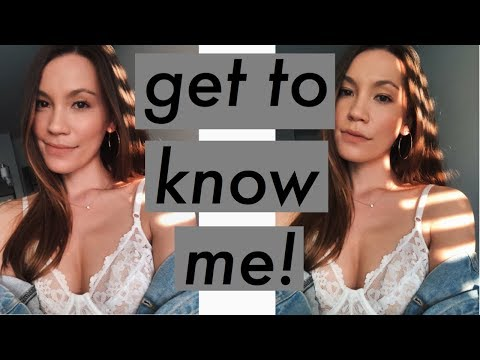GET TO KNOW ME TAG | Allyssa Lynn 2018 | SINGLE? SIBLINGS? MIDDLE NAME?