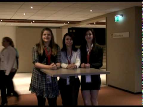 Interview with three admins at THIMUN 2010