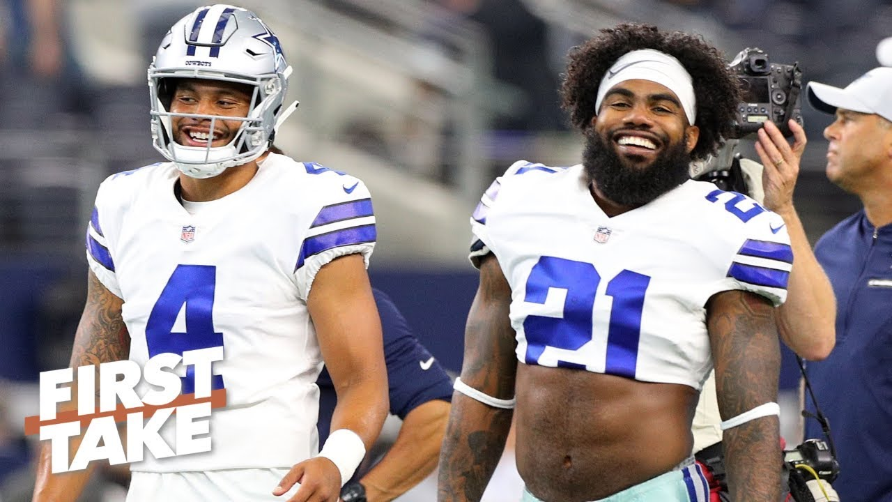 f8bc4b2c2e4 Jason Witten's return makes the Cowboys Super Bowl contenders – Will Cain |  First Take