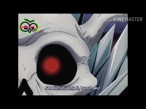 Cuplikan saat pedang Tetsusaiga mewarisi kekuatan Kongousoha dari Hosenki