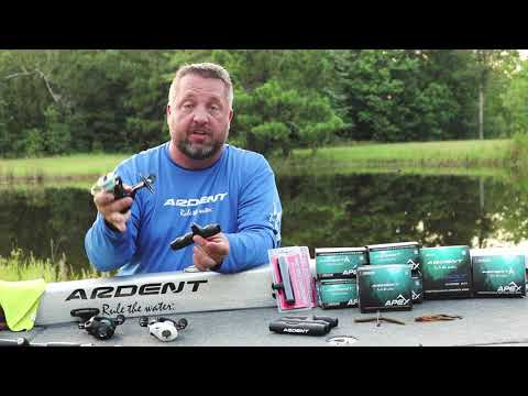Ardent Pro Rod Overgrip Installation For Spinning Reels