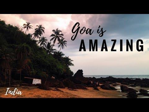 GOA, INDIA: Polish girl chillin' in ARAMBOL