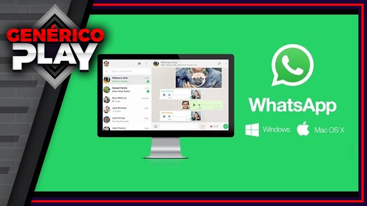 Como Baixar E Instalar O Whatsapp Oficial Para Pc Atualizado