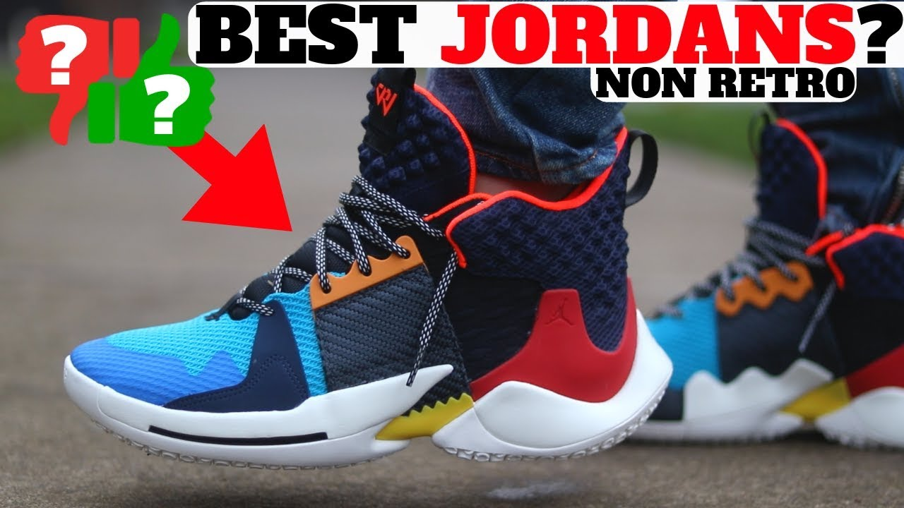 9d0acff316ef1e 2019 BEST NEW AIR JORDANS ! (not Retro) WHY NOT ZERO.2 Review! - YouTube
