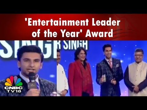 Ranveer Singh Wins 'Entertainment Leader of the Year' Award | #LeadersOfChange