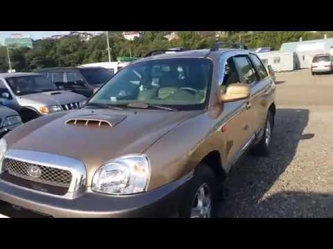 Korean Used Car   2000 Hyundai SantaFe GOLD 4WD   YD Trading   IC1068438